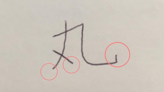 丸の文字2